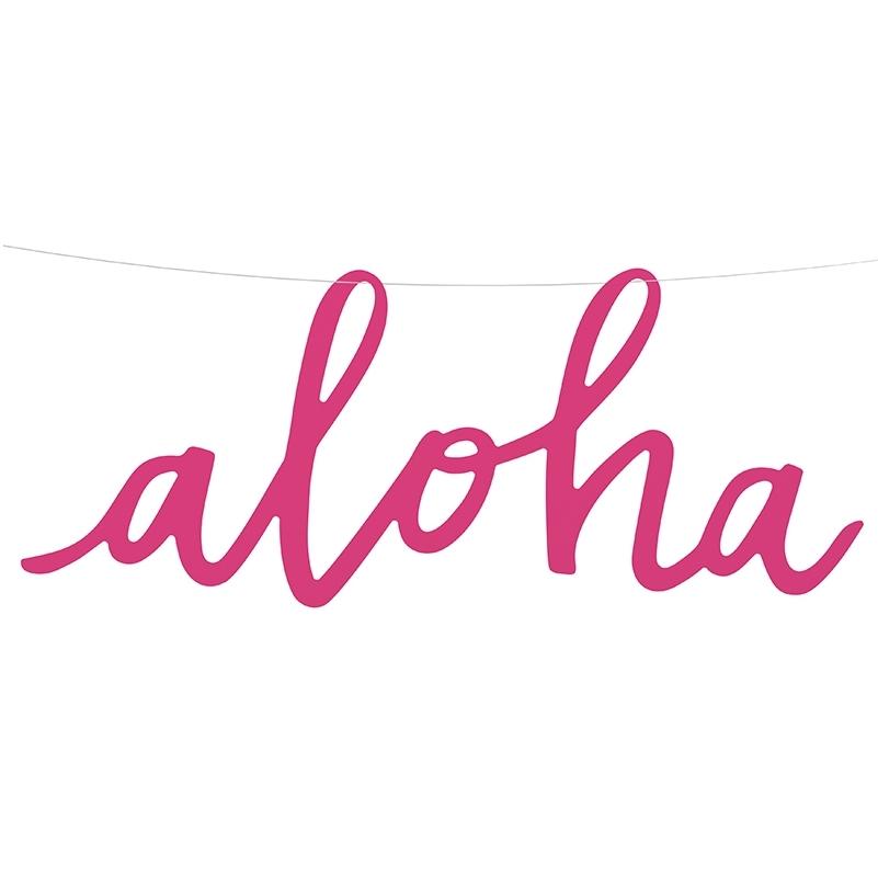 Guirnalda de Papel Aloha