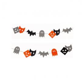 Guirnalda de papel Halloween