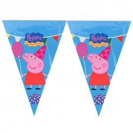 Guirnalda de papel Peppa Pig
