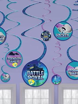 Decoración Colgante Espiral Battle Royale