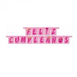 Guirnalda Feliz Cumpleaños Princess 2 metros