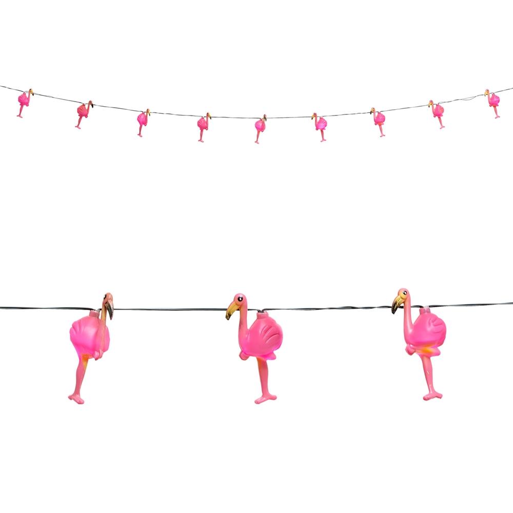 Guirnalda Luminosa Flamencos 2,5 metros