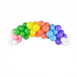Kit para Arco de Globos Rainbow