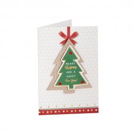 Mini Tarjeta Felicitación Navidad B