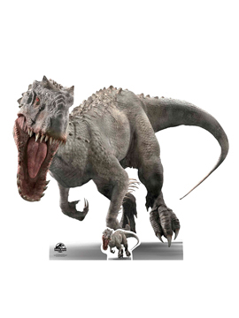 Decoración para photocall del Indominus Rex de Jurassic World de 118 cm