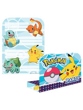 Invitaciones de Cumpleaños Pokémon
