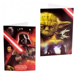 Invitaciones Fiesta de Cumpleaños Star Wars - Miles de Fiestas