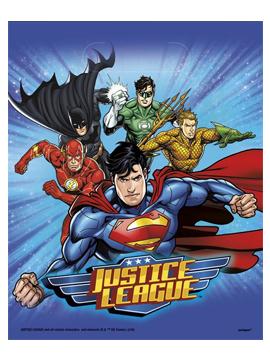 Juego 8 Bolsas Liga de la Justicia