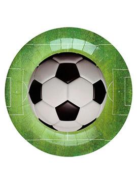 Juego de 10 Platos Campo de Fútbol