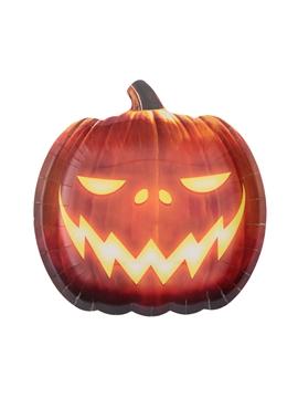 Juego de 10 Platos Skull&Pumpkin