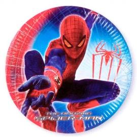 Juego de 10 Platos Spiderman 22 cm