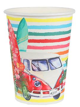 Juego de 10 Vasos Fiesta Aloha