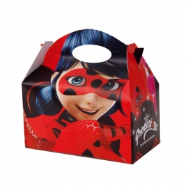 Juego de 12 Cajitas para dulces Ladybug