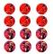 Juego de 12 Impresiones en Oblea Ladybug