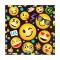 Juego de 16 Servilletas Emoticonos