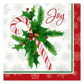 Juego de 16 Servilletas Navidad