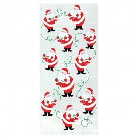 Juego de 20 Bolsas para Dulces Santa Claus