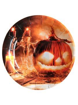Juego de 20 Platos Skull&Pumpkin