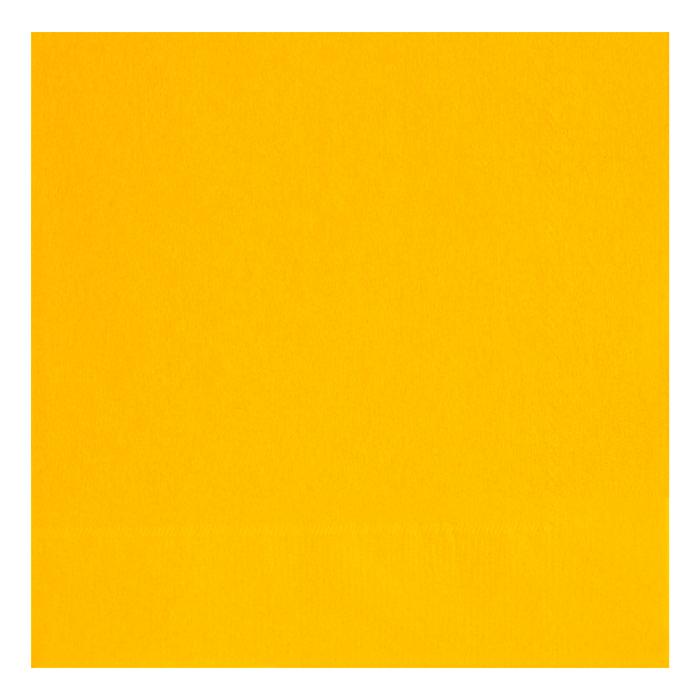 Juego de 20 Servilletas Amarillas