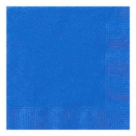 Juego de 20 Servilletas Azul Intenso
