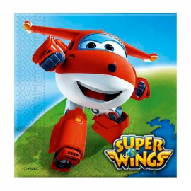 Juego de 20 Servilletas Super Wings
