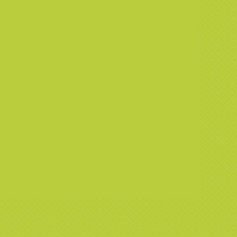 Juego de 20 Servilletas Verde Pistacho