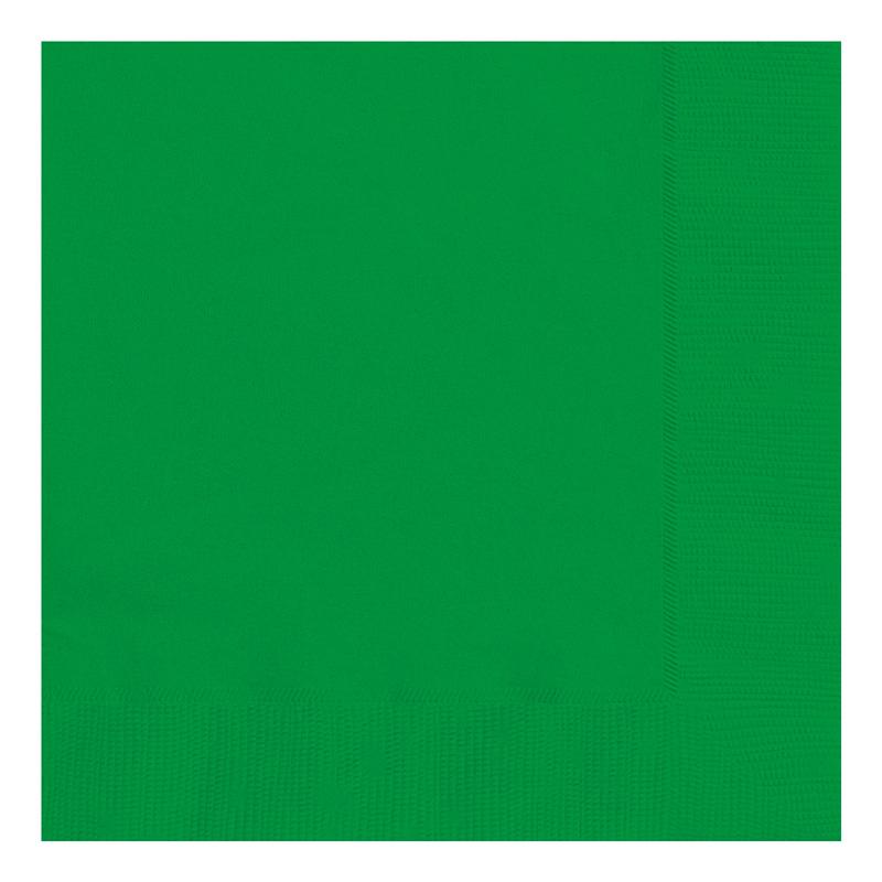 Juego de 20 Servilletas Verdes