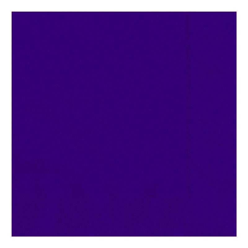 Juego de 20 Servilletas Violetas