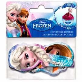 Juego de 24 Toppers Frozen