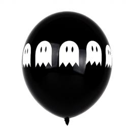 Juego de 5 globos de látex Fantasma