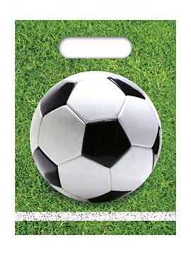 Juego de 6 Bolsas para Chuches Fútbol