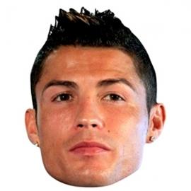 Juego de 6 Caretas Cristiano Ronaldo