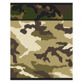 Juego de 8 bolsas para Chuches Camuflaje Militar
