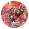 Juego de 8 platos de Los Vengadores - Miles de Fiestas
