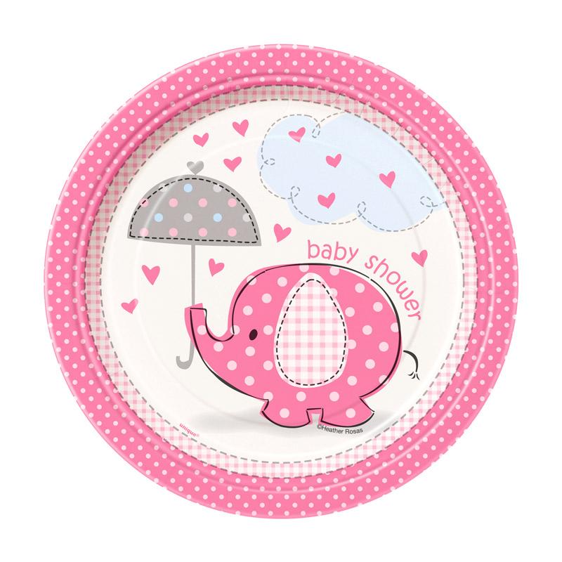 Invitaciones Baby Shower Elefante Rosa Comprar Online