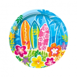 Juego de 8 Platos Hawai 17 cm