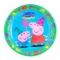 Juego de 8 platos Peppa Pig - Miles de Fiestas
