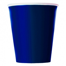 Juego de 8 Vasos Azul Marino
