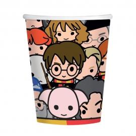 Juego de 8 Vasos Personajes Harry Potter