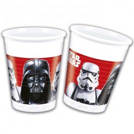 Juego de 8 vasos Star Wars