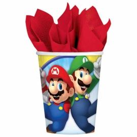Juego de 8 Vasos Super Mario