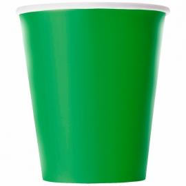 Juego de 8 Vasos Verdes