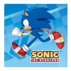 Juego de Servilletas Sonic The Hedgehog
