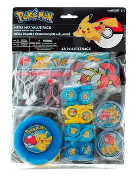 Kit 48 Juguetes Pokémon Para Piñatas