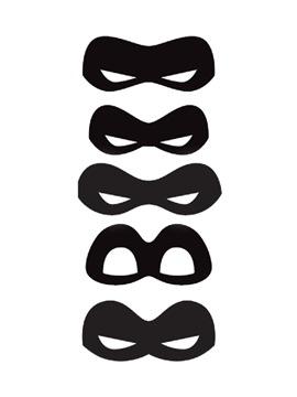 Kit 8 máscaras Los Increíbles 2