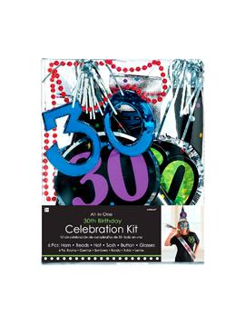 Kit de Fiestas 30 Cumpleaños