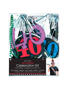 Kit de Fiestas 40 Cumpleaños