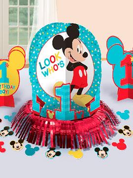 Kit Decoración Mesa Mickey Mouse