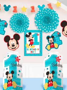 Kit decoración Mickey Mouse