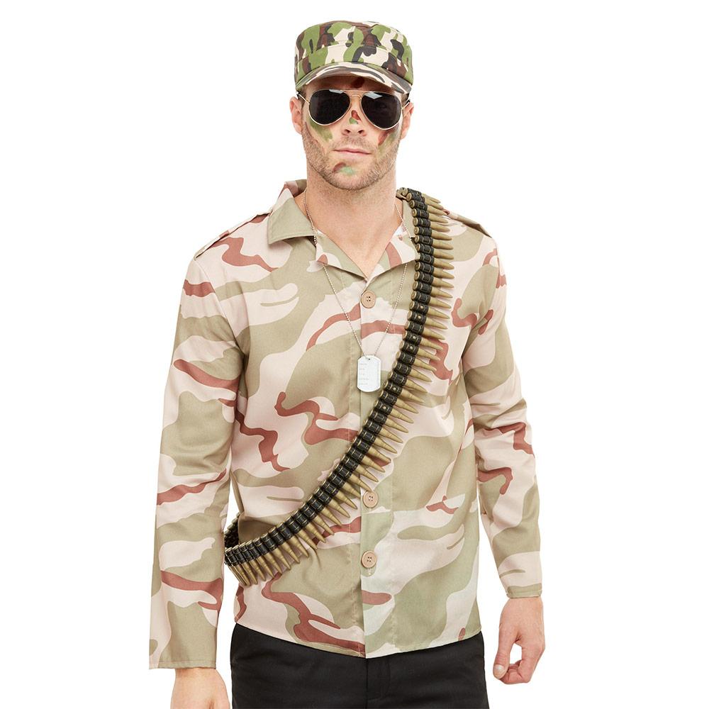 Kit Disfraz Militar Adulto